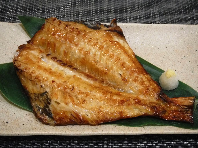 赤魚干物焼